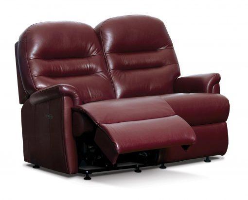 Sherborne Keswick Leather Small Reclining 2 Seater Sofa