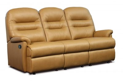 Sherborne Keswick Leather Standard Reclining 3 Seater Sofa