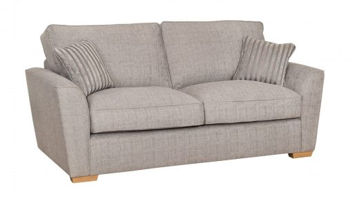 Eliza 3 seat angled striped scatters