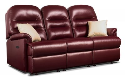 Sherborne Keswick Leather Small Reclining 3 Seater Sofa
