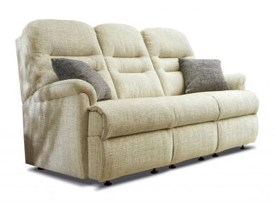Sherborne Keswick Fabric Small Fixed 3 Seater Sofa