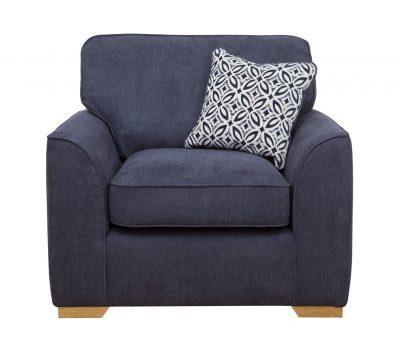 Quinn arm chair front