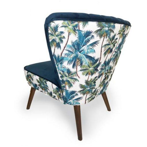 Eden Tropical Blue Chair2