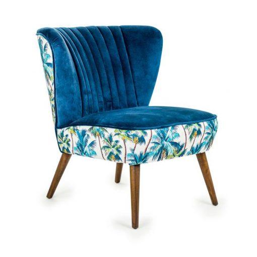 Eden Tropical Blue Chair