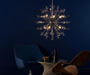 Dar chandelier style ceiling light