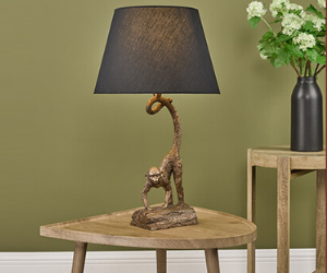 Dar monkey table lamp