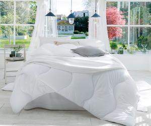 The Fine Bedding Company breathable duvet