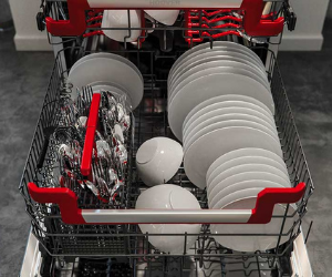 Hoover full dishwasher