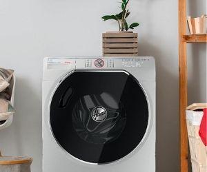 Hoover white washing machine