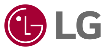 LG brand logo on white background