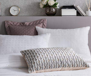 Selection of pillows from The Fine Bedding Company