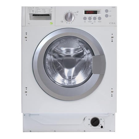 Image of CDA CI381 8kg 1400 Spin Integrated Washing Machine