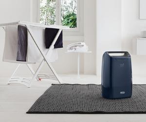 De'Longhi multipurpose dehumidifier with laundry