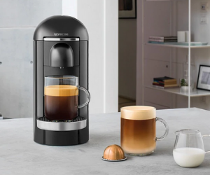 Nespresso VertuoPlus black coffee machine