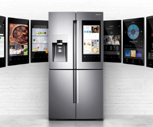 Samsung family hub fridge freezer