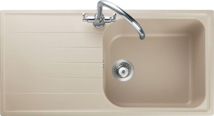 Image of Rangemaster AME1051SN Amethyst Stone 1 Bowl Inset Sink