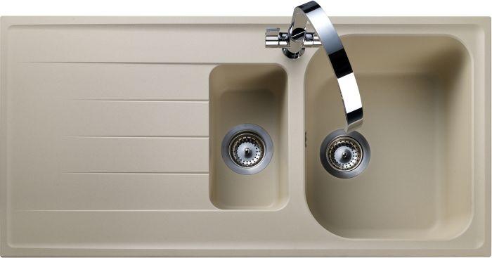 Image of Rangemaster AME1052SN Amethyst Stone 1.5 Bowls Inset Sink