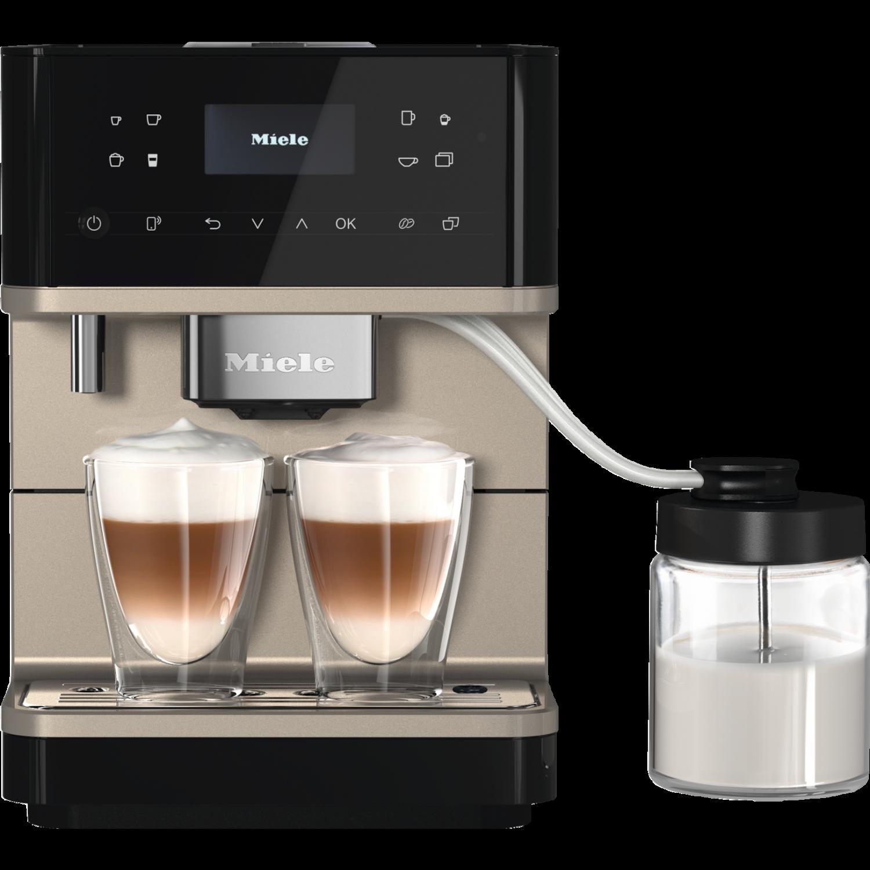 Image of Miele CM6360 Coffee Machine - Obsidian Black