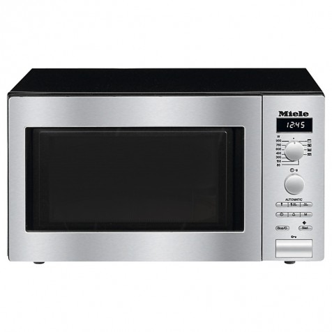Image of Miele M6012 Microwave - Clean Steel