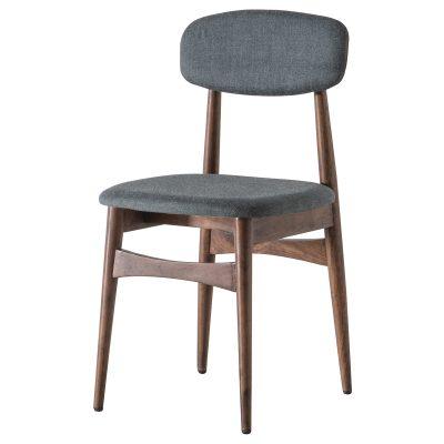 Badalonia Dark Acacia Wood Dining Chair