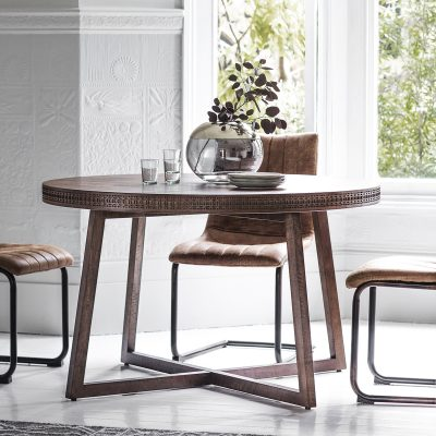 Boi 120cm Round Dining Table