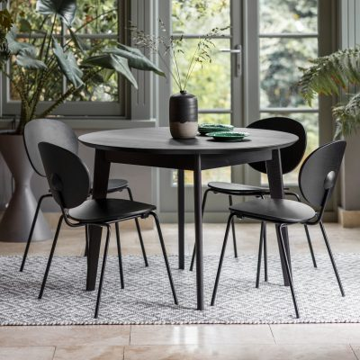 Bordan 110cm Round Dining Table