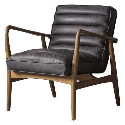 Dodson Leather Armchair