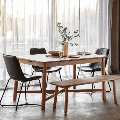 Kingsly 150cm-200cm Extending Dining Table Image 2