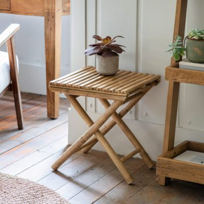 Andi Bamboo Side Table