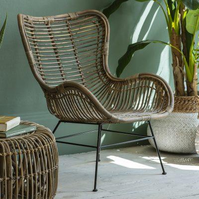 Ballymee Rattan Lounger Chair