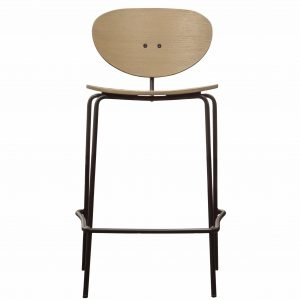 Bexley Light Birch Wood Bar Stool (Set of 2) Image 1