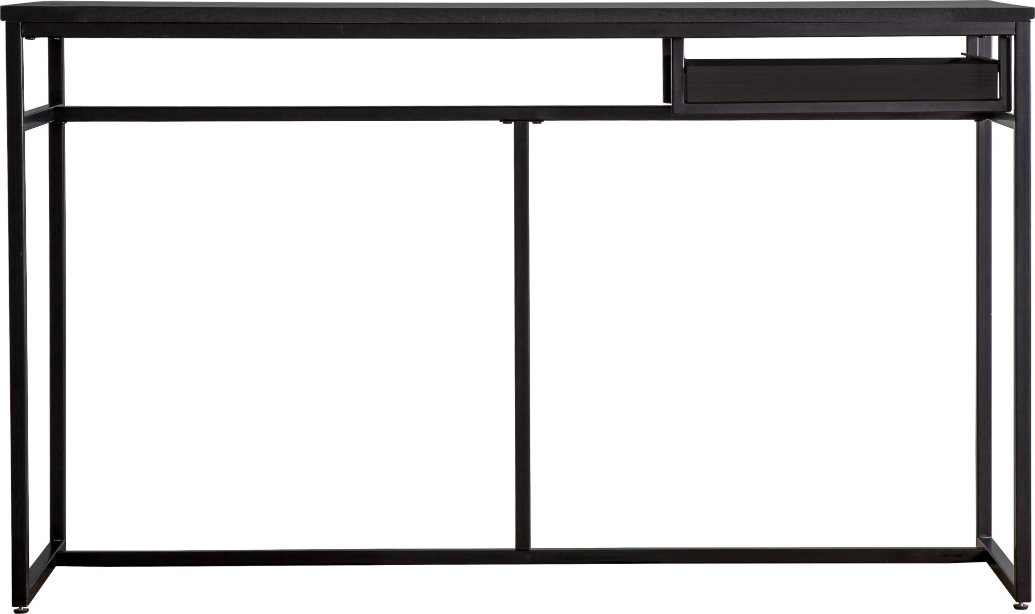 Image of Bordan Wood Desk - Black
