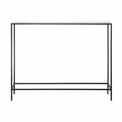 Calgary Metal Console Table in Light Grey