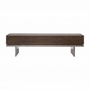 Churo Mindy Ash 2 Drawer Coffee Table in Brown Image 1