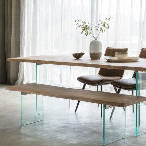 Fern 240cm Light Wood Dining Table