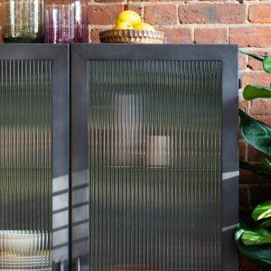 Harem Metal Display Unit in Grey