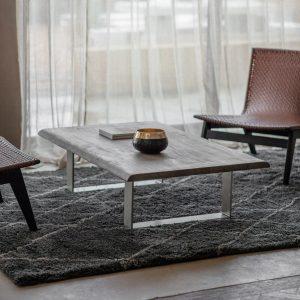Hunter Dark Acacia Wood Coffee Table Image 2