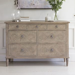 Ivy Mindy Ash 7 Drawer Chest Image 2