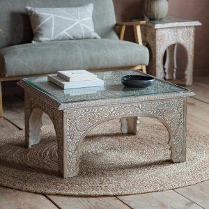 Juna Light Mango Wood Coffee Table Image 2