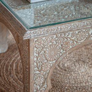 Juna Light Mango Wood Coffee Table Image 3