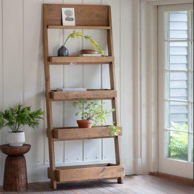 Katniss Recycled Pine Tall Shelf Unit