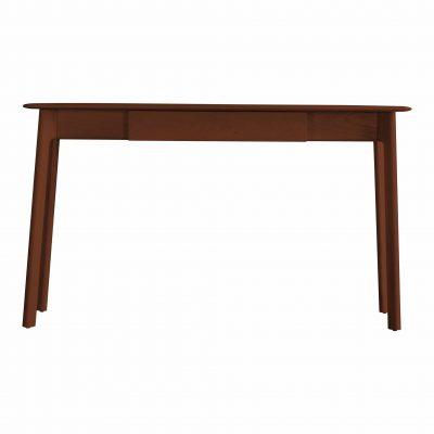 Maddison Dark Walnut 1 Drawer Desk