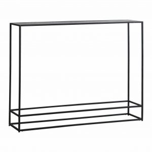 Madson Metal Console Table in Silver Image 1