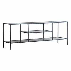 Madson Metal Media Unit in Silver