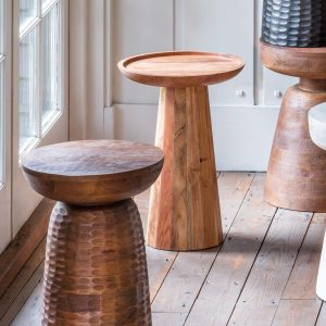 Rainham Acacia Wood Side Table