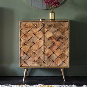 Remi Light Mango Wood Sideboard