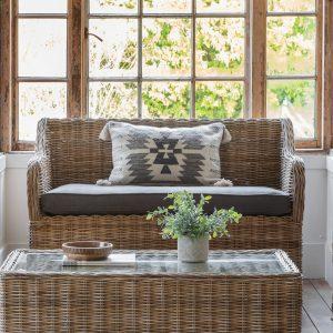 Tubbut Rattan 2 Seater Sofa