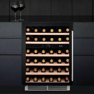 Caple WI6136 60cm Undercounter Dual Zone Wine Cooler