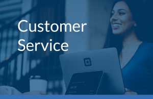 Main customer service with image