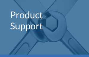 Main product support with image